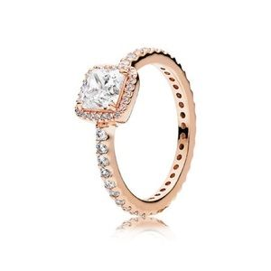 NWT Pandora timeless elegance ring , rose gold